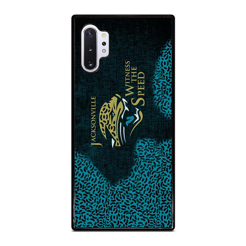 coque custodia cover fundas hoesjes j3 J5 J6 s20 s10 s9 s8 s7 s6 s5 plus edge D28086 JACKSONVILLE JAGUARS 1 Samsung Galaxy Note 10 Plus Case