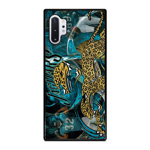 coque custodia cover fundas hoesjes j3 J5 J6 s20 s10 s9 s8 s7 s6 s5 plus edge D28094 JACKSONVILLE JAGUARS 2 Samsung Galaxy Note 10 Plus Case