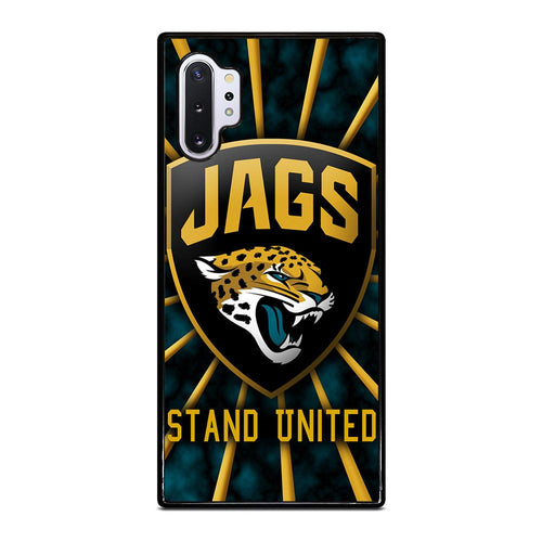 coque custodia cover fundas hoesjes j3 J5 J6 s20 s10 s9 s8 s7 s6 s5 plus edge D28076 JACKSONVILLE JAGUARS #5 Samsung Galaxy Note 10 Plus Case