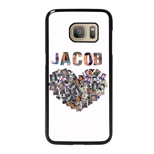 coque custodia cover fundas hoesjes j3 J5 J6 s20 s10 s9 s8 s7 s6 s5 plus edge D28136 JACOB SARTORIUS COLLAGE ART Samsung Galaxy S7 Case