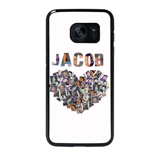 coque custodia cover fundas hoesjes j3 J5 J6 s20 s10 s9 s8 s7 s6 s5 plus edge D28137 JACOB SARTORIUS COLLAGE ART Samsung galaxy s7 edge Case