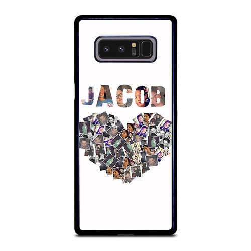 coque custodia cover fundas hoesjes j3 J5 J6 s20 s10 s9 s8 s7 s6 s5 plus edge D28129 JACOB SARTORIUS COLLAGE ART Samsung Galaxy Note 8 Case