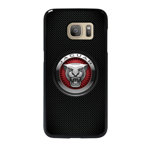 coque custodia cover fundas hoesjes j3 J5 J6 s20 s10 s9 s8 s7 s6 s5 plus edge D28218 JAGUAR LOGO Samsung Galaxy S7 Case
