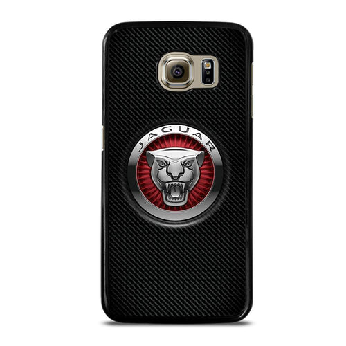 coque custodia cover fundas hoesjes j3 J5 J6 s20 s10 s9 s8 s7 s6 s5 plus edge D28215 JAGUAR LOGO Samsung Galaxy S6 Case