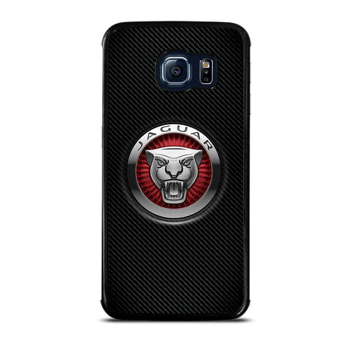 coque custodia cover fundas hoesjes j3 J5 J6 s20 s10 s9 s8 s7 s6 s5 plus edge D28216 JAGUAR LOGO Samsung Galaxy S6 Edge Case
