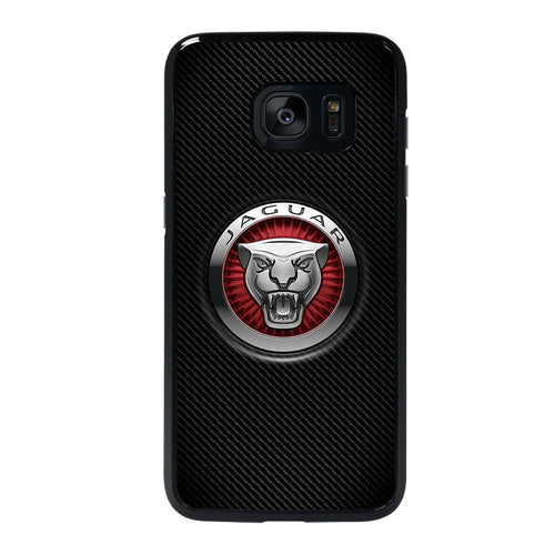 coque custodia cover fundas hoesjes j3 J5 J6 s20 s10 s9 s8 s7 s6 s5 plus edge D28219 JAGUAR LOGO Samsung galaxy s7 edge Case