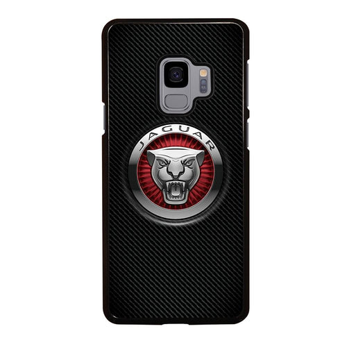 coque custodia cover fundas hoesjes j3 J5 J6 s20 s10 s9 s8 s7 s6 s5 plus edge D28222 JAGUAR LOGO Samsung Galaxy S9 Case