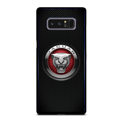 coque custodia cover fundas hoesjes j3 J5 J6 s20 s10 s9 s8 s7 s6 s5 plus edge D28207 JAGUAR LOGO Samsung Galaxy Note 8 Case