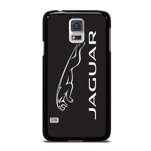 coque custodia cover fundas hoesjes j3 J5 J6 s20 s10 s9 s8 s7 s6 s5 plus edge D28151 JAGUAR LOGO #1 Samsung Galaxy S5 Case