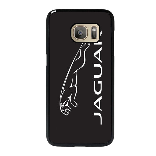 coque custodia cover fundas hoesjes j3 J5 J6 s20 s10 s9 s8 s7 s6 s5 plus edge D28155 JAGUAR LOGO #1 Samsung Galaxy S7 Case