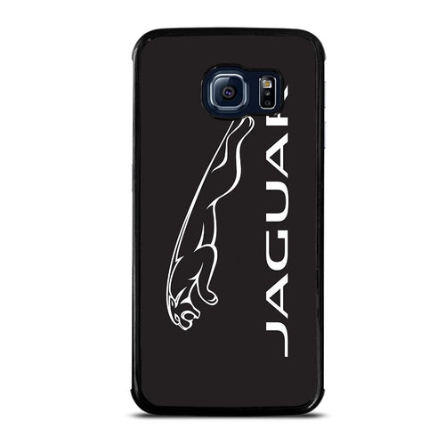 coque custodia cover fundas hoesjes j3 J5 J6 s20 s10 s9 s8 s7 s6 s5 plus edge D28153 JAGUAR LOGO #1 Samsung Galaxy S6 Edge Case
