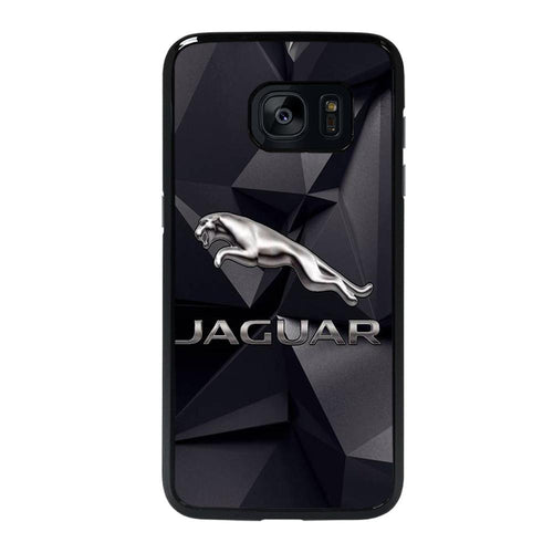 coque custodia cover fundas hoesjes j3 J5 J6 s20 s10 s9 s8 s7 s6 s5 plus edge D28170 JAGUAR LOGO 2 Samsung Galaxy s7 edge Case