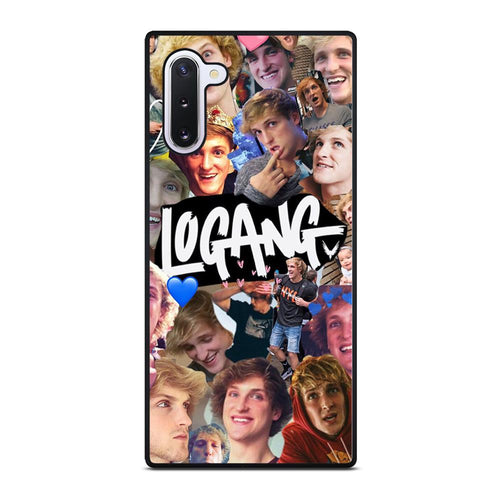 coque custodia cover fundas hoesjes j3 J5 J6 s20 s10 s9 s8 s7 s6 s5 plus edge D28224 JAKE PAUL LOGANG COLLAGE Samsung Galaxy Note 10 Case