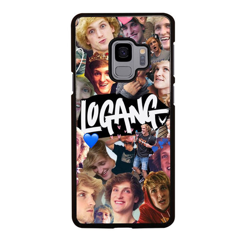 coque custodia cover fundas hoesjes j3 J5 J6 s20 s10 s9 s8 s7 s6 s5 plus edge D28237 JAKE PAUL LOGANG COLLAGE Samsung Galaxy S9 Case