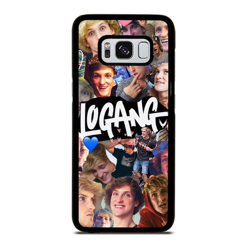 coque custodia cover fundas hoesjes j3 J5 J6 s20 s10 s9 s8 s7 s6 s5 plus edge D28235 JAKE PAUL LOGANG COLLAGE Samsung Galaxy S8 Case