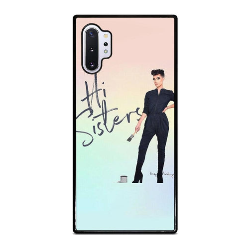 coque custodia cover fundas hoesjes j3 J5 J6 s20 s10 s9 s8 s7 s6 s5 plus edge D28240 JAMES CHARLES HI SISTERS Samsung Galaxy Note 10 Plus Case