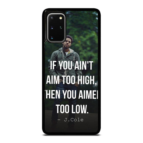 coque custodia cover fundas hoesjes j3 J5 J6 s20 s10 s9 s8 s7 s6 s5 plus edge D28057 J COLE QUOTE #1 Samsung Galaxy S20 Plus Case