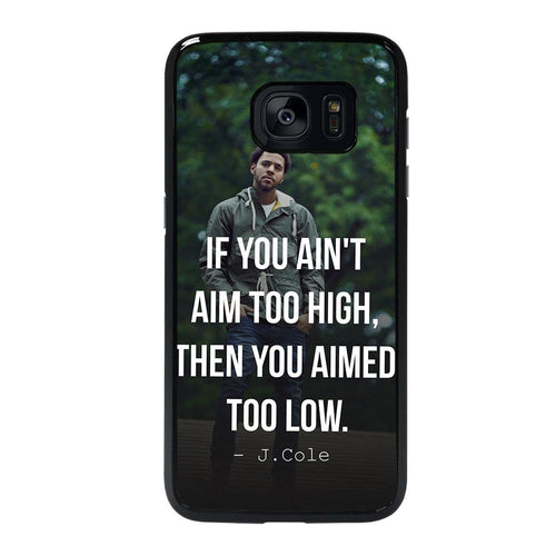 coque custodia cover fundas hoesjes j3 J5 J6 s20 s10 s9 s8 s7 s6 s5 plus edge D28063 J COLE QUOTE #1 Samsung galaxy s7 edge Case