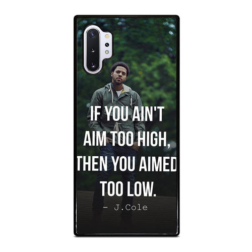 coque custodia cover fundas hoesjes j3 J5 J6 s20 s10 s9 s8 s7 s6 s5 plus edge D28050 J COLE QUOTE #1 Samsung Galaxy Note 10 Plus Case