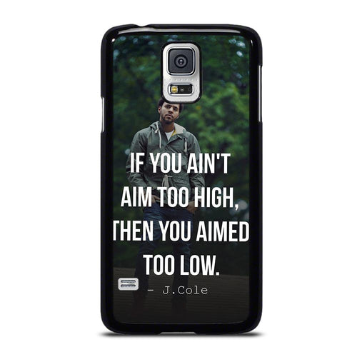 coque custodia cover fundas hoesjes j3 J5 J6 s20 s10 s9 s8 s7 s6 s5 plus edge D28058 J COLE QUOTE #1 Samsung Galaxy S5 Case