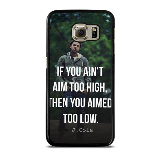coque custodia cover fundas hoesjes j3 J5 J6 s20 s10 s9 s8 s7 s6 s5 plus edge D28059 J COLE QUOTE #1 Samsung Galaxy S6 Case