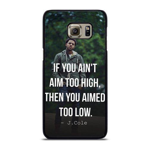 coque custodia cover fundas hoesjes j3 J5 J6 s20 s10 s9 s8 s7 s6 s5 plus edge D28061 J COLE QUOTE #1 Samsung Galaxy S6 Edge Plus Case