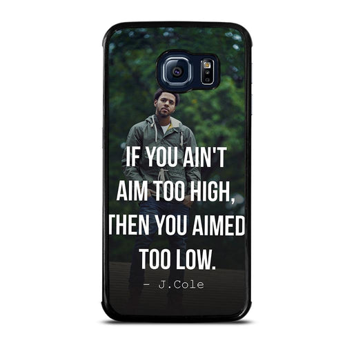 coque custodia cover fundas hoesjes j3 J5 J6 s20 s10 s9 s8 s7 s6 s5 plus edge D28060 J COLE QUOTE #1 Samsung Galaxy S6 Edge Case