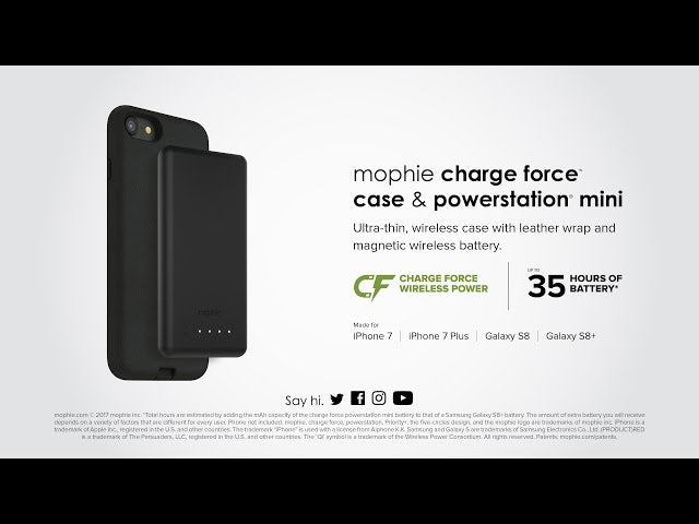 La ricarica wireless arriva su iPhone 7 con le cover di Mophie