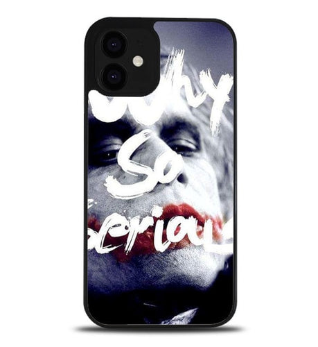 custodia cover iphone 12/12 mini/12 pro/12 pro max Joker Why So Serious Quote L1442
