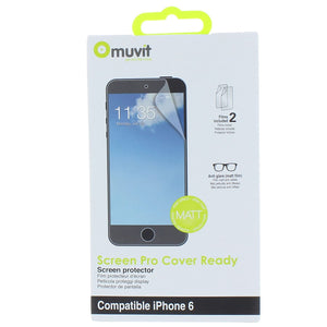Muvit iPhone 6 Matte Cover-Ready Screen