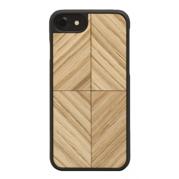 Wood'd - Block Cover - iPhone 8 / 7 - Cover in Legno - Classic