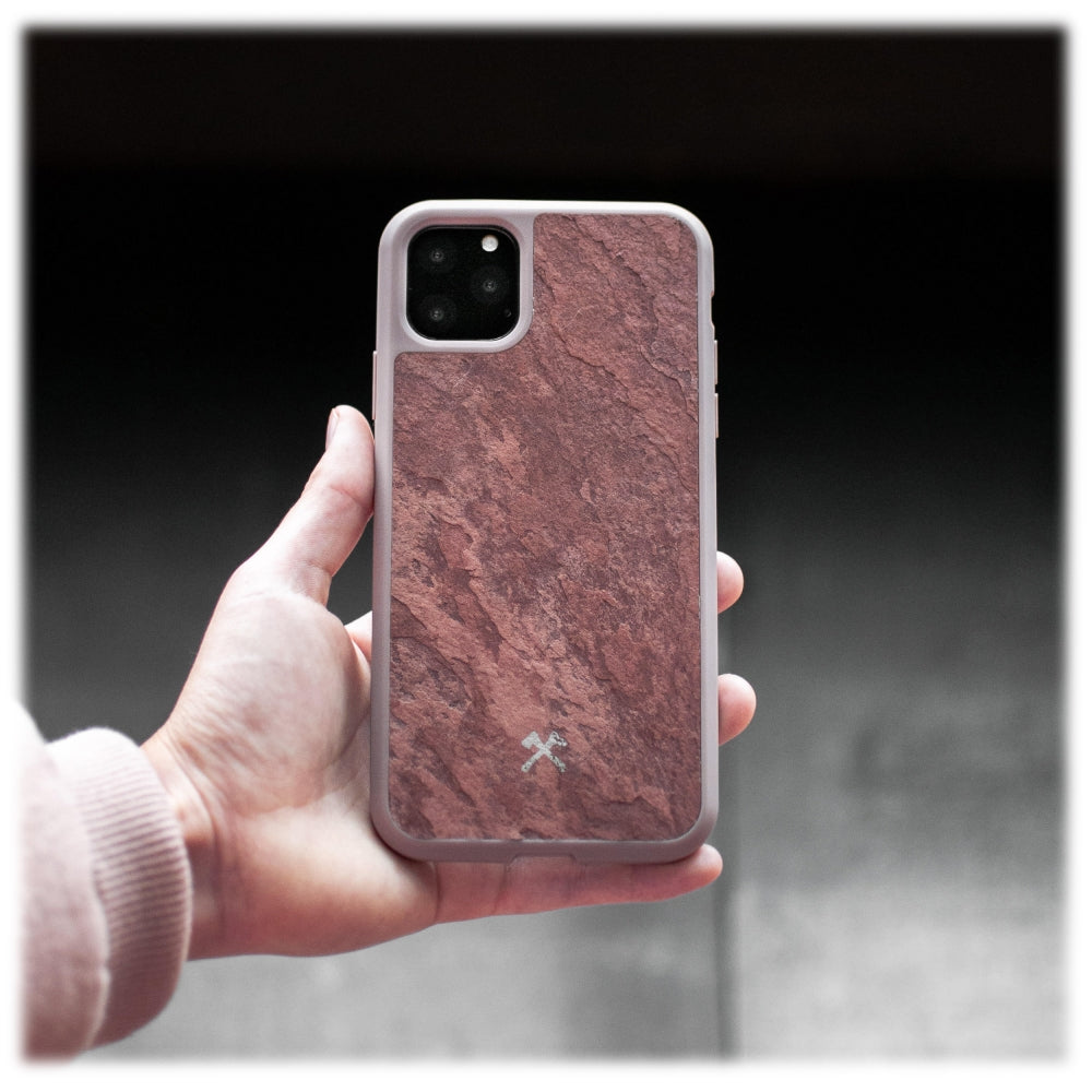 Woodcessories - Eco Bump - Cover in Pietra - Rosso Canyon - iPhone