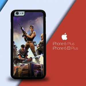 Fortnite Battle Royale O6848 custodia cover iPhone 6 Plus, 6S Plus