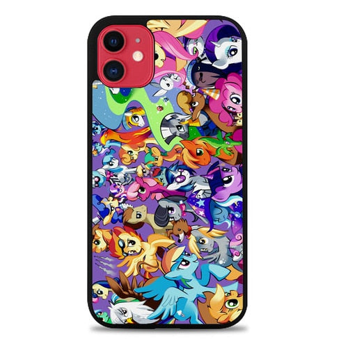 MY LITTLE PONY COLLAGE Z1359 custodia cover iphone 11