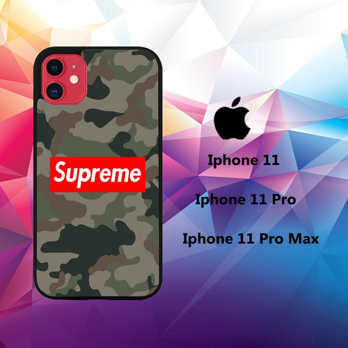cover custodia case iphone 11 A4003 nike supreme logo 64qW2