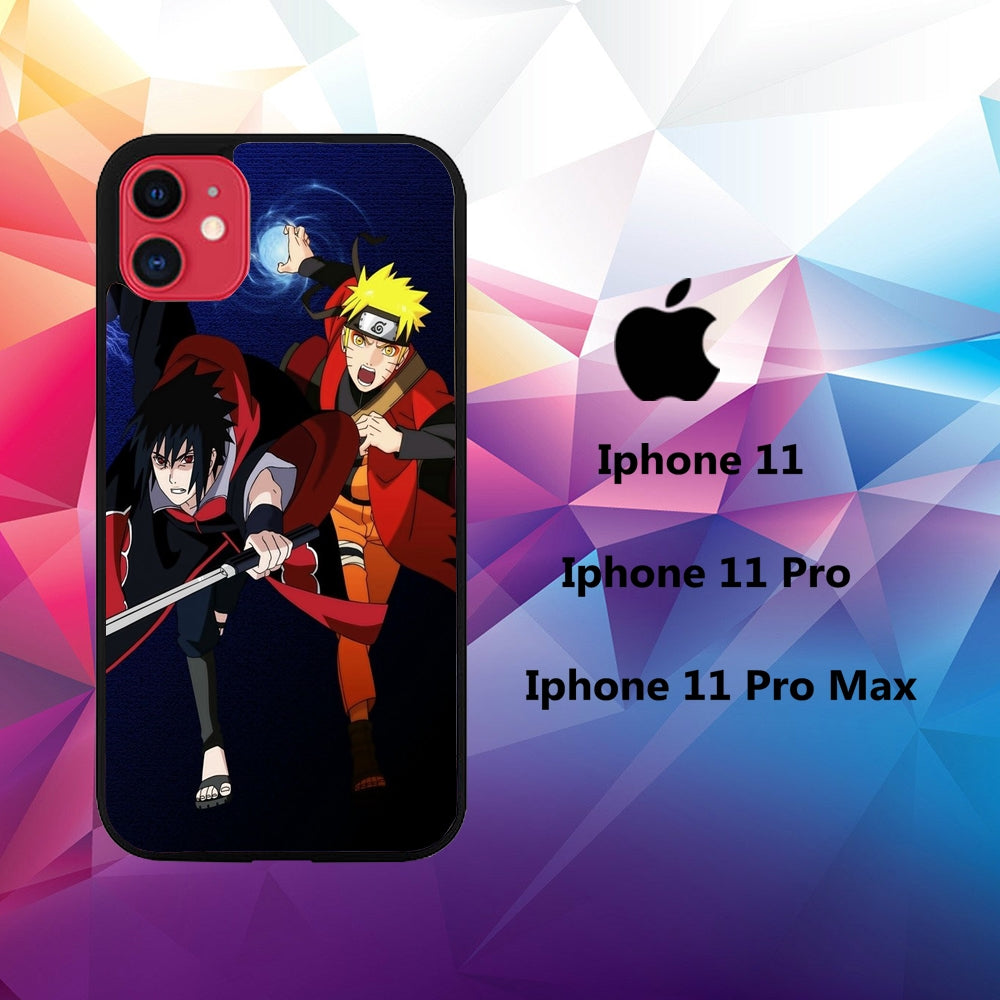 cover custodia case iphone 11 D8262 naruto wallpaper 61tD2