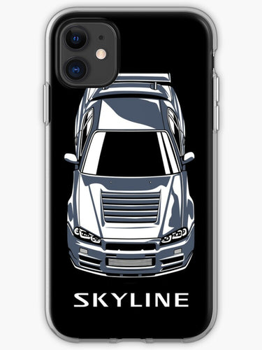 cover iphone 11 nissan skyline gtr r34