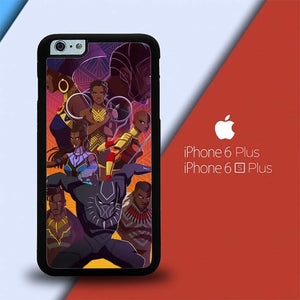 Wakanda Forever FJ0481 custodia cover iPhone 6 Plus, 6S Plus