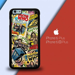 Doctor Who Comic Book X8820 custodia cover iPhone 6 Plus, 6S Plus