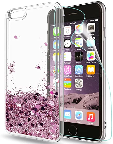 iPhone 6 Cover Custodia iPhone 6s Silicone TPU Morbido Lucentezza