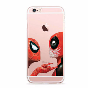 iPhone 7 Cover LiquidiPhone 7 Custodia PuroURFEDA 2016 Marvel