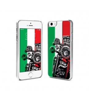 id America - Custodia Integrale HUE per iPhone 5/5S - Rosa