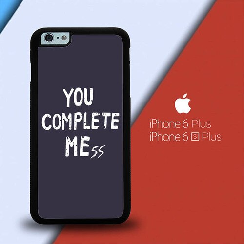 You Complete Me L2802 custodia cover iPhone 6 Plus, 6S Plus
