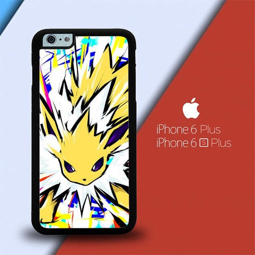 Pokemon Eevee Jolteon L2817 custodia cover iPhone 6 Plus, 6S Plus