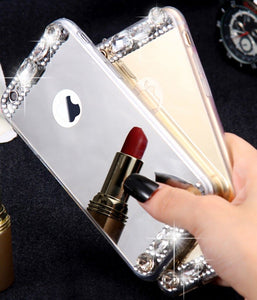 largest mirror cover custodia iphone 6