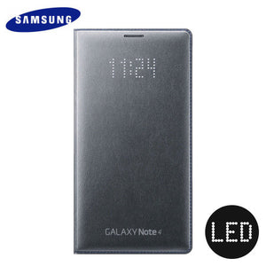 led cover samsung galaxy note 4 officielle - noire