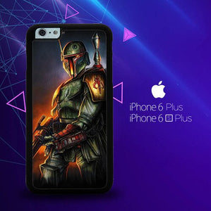 Boba Fett Star Wars Wallpaper Y0504 custodia cover iPhone 6 Plus, 6S Plus
