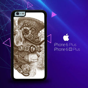 Steampunk Cats Y0864 custodia cover iPhone 6 Plus, 6S Plus