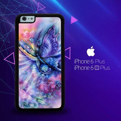 Butterfly Art Y1410  custodia cover iPhone 6 Plus, 6S Plus