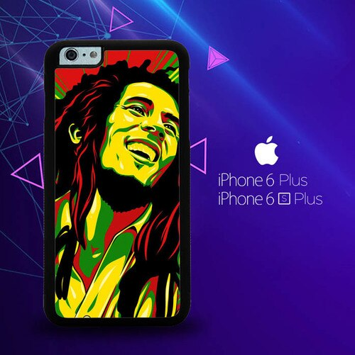 Bob Marley Y1422 custodia cover iPhone 6 Plus, 6S Plus